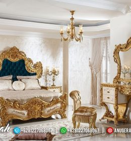 Best Quality Princes Bed Set Gold Leaf BK-532